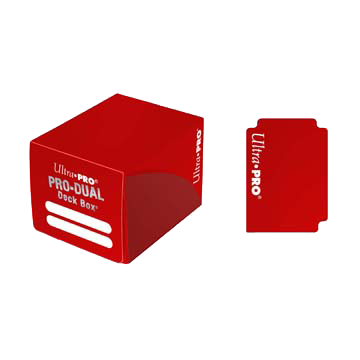 PRO Dual Small Red Deck Box (120)