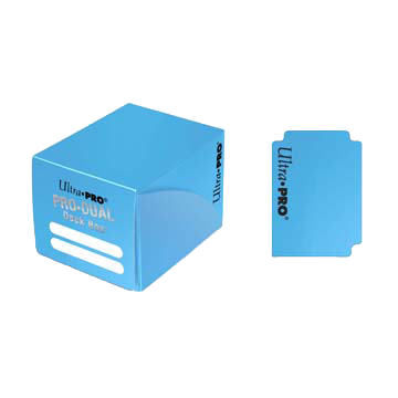 PRO Dual Small Light Blue Deck Box (120)