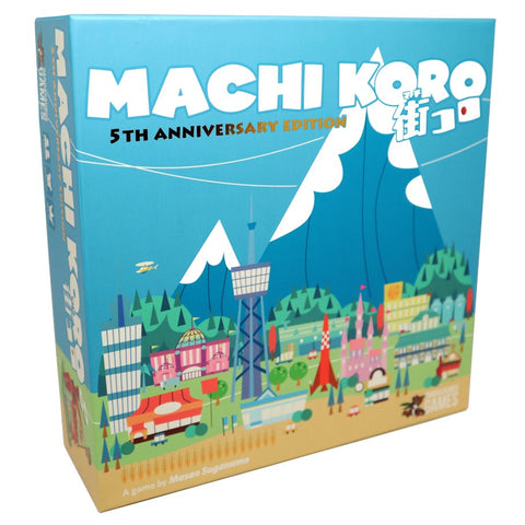 Machi Koro (5th Anniversary Edition) *PRE-ORDER* (ETA Dec 2018)