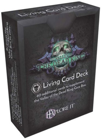 HEXplore It: The Valley of the Dead King - Living Card Deck