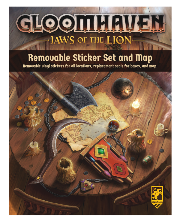 Gloomhaven: Jaws of the Lion Removable Sticker