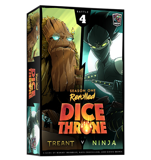 Dice Throne: ReRolled - Treant vs Ninja Season One