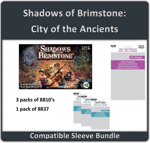 Sleeve Kings Sleeve Bundle - Shadows of Brimstone: City of the Ancients