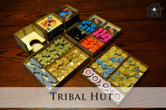 Meeple Realty - The Tribal Tent (Compatible with FIVE TRIBES™ )