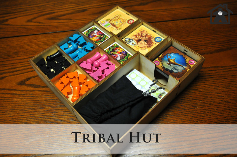 Meeple Realty - The Tribal Tent 1.0 (Compatible with FIVE TRIBES™)