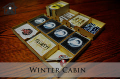 Meeple Realty - The Winter Cabin ( compatible with DEAD OF WINTER™ )