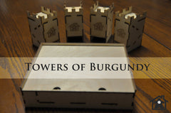 Meeple Realty - The Towers of Burgundy (Compatible with CASTLES OF BURGUNDY™)