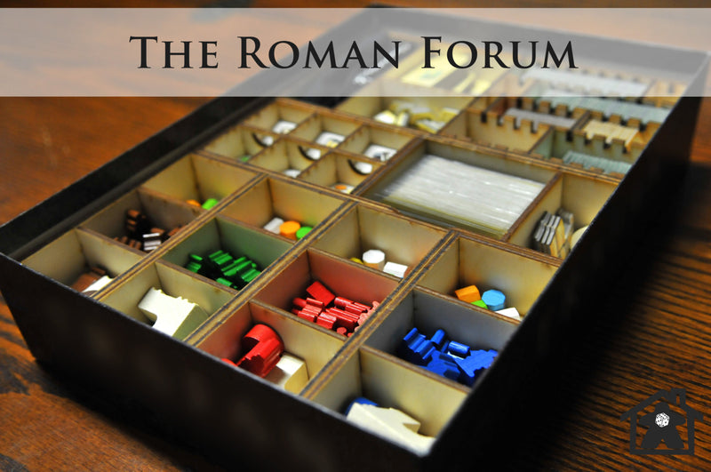 Meeple Realty - The Roman Forum (Compatible with TRAJAN™ )