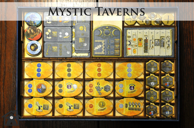 Meeple Realty - Mystic Taverns (Compatible with TERRA MYSTICA™ )