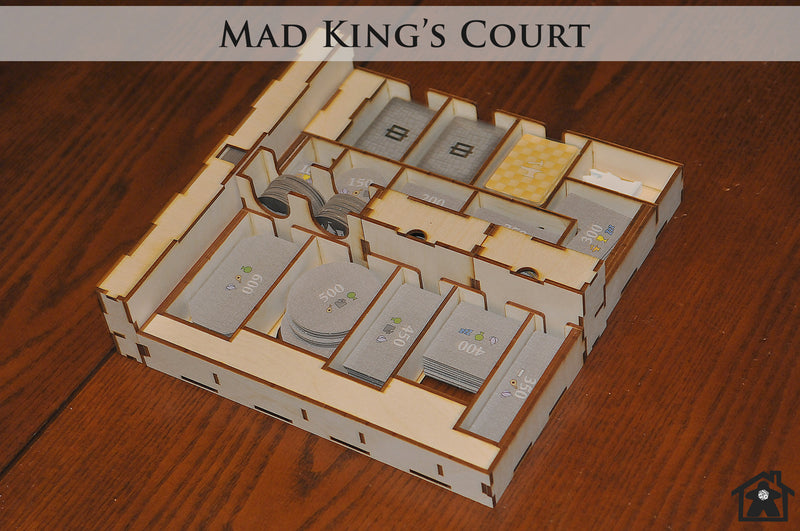 Meeple Realty - Mad King's Court (Compatible with CASTLES OF MAD KING LUDWIG™)