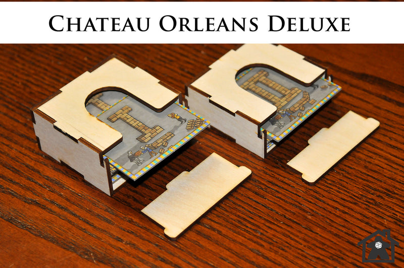 Meeple Realty - Chateau Orleans Deluxe (compatible with ORLEANS: DELUXE™ )