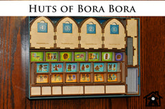 Meeple Realty - Huts of Bora Bora (compatible with BORA BORA™)