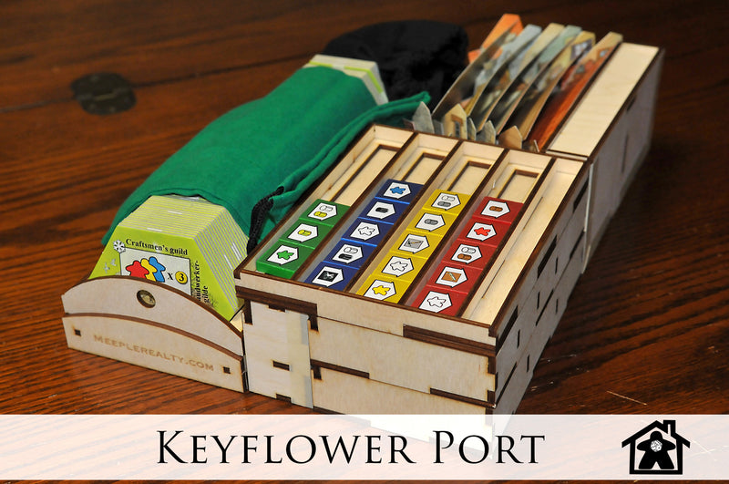 Meeple Realty - Keyflower Port (Compatible with KEYFLOWER™)