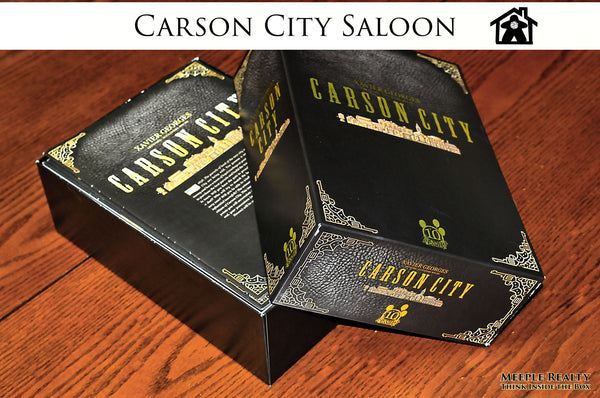 Meeple Realty - Carson City Saloon (Compatible with CARSON CITY: BIG BOX™) *PRE-ORDER*