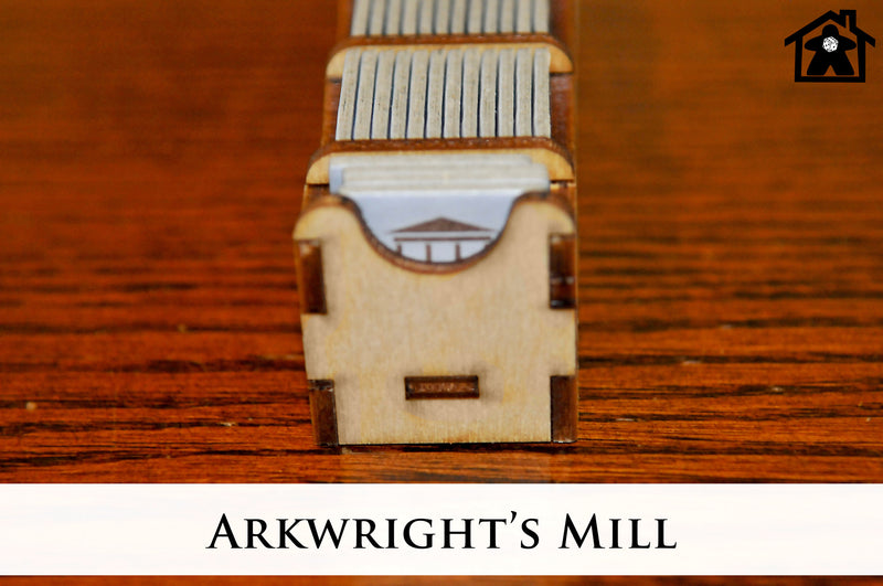 Meeple Realty - Arkwright's Mill (Compatible with ARKWRIGHT™)