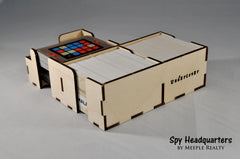 Meeple Realty - Spy Headquarters (compatible with CODENAMES™)