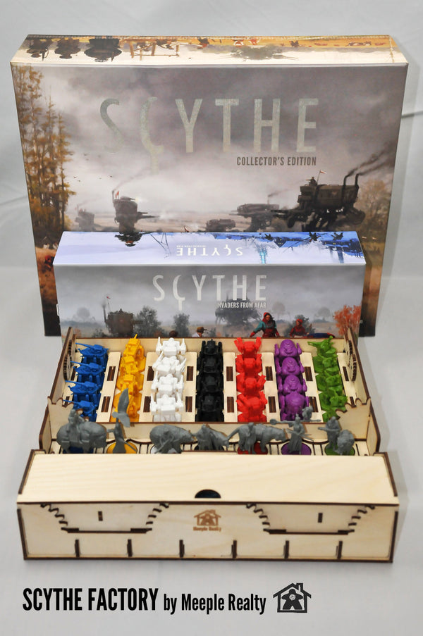 Meeple Realty - Scythe Factory (Compatible with SCYTHE™)