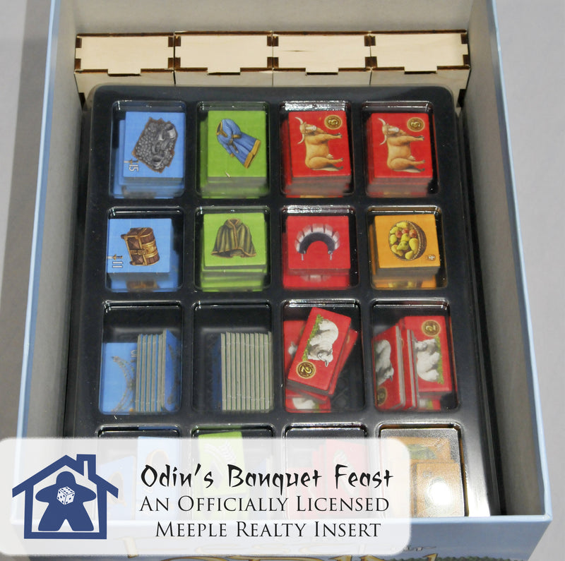 Meeple Realty - Odin's Banquet Hall (Compatible with FEAST FOR ODIN™)