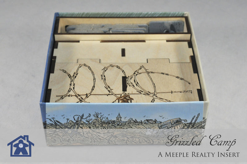 Meeple Realty - Grizzled Camp (Compatible with The Grizzled™ and The Grizzled: At Your Order!™)