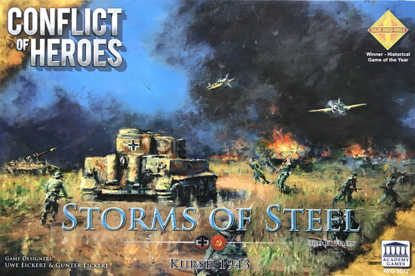 Conflict of Heroes: Storms of Steel! - Kursk 1943