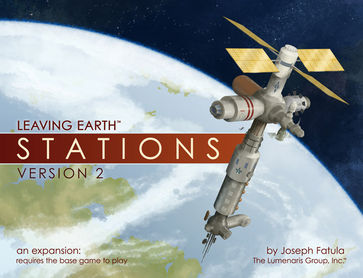 Leaving Earth: Stations (Version 2)
