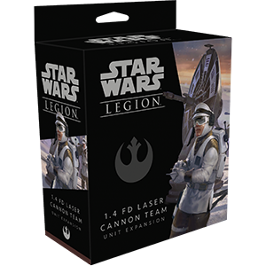 Star Wars: Legion – 1.4 FD Laser Cannon Team Unit Expansion