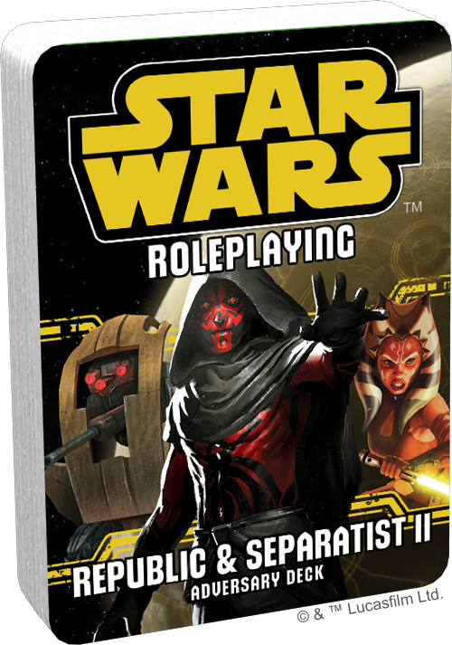 Star Wars: Roleplaying - Republic and Separatist II Adversary Deck