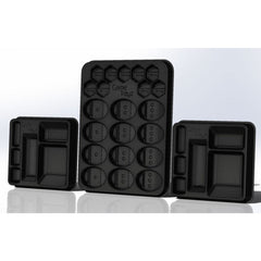 Game Trayz - Terra Mystica Game Trayz (Clear Matte with Lids)