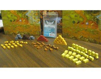 Mayday - Stone Age Wooden Token Set