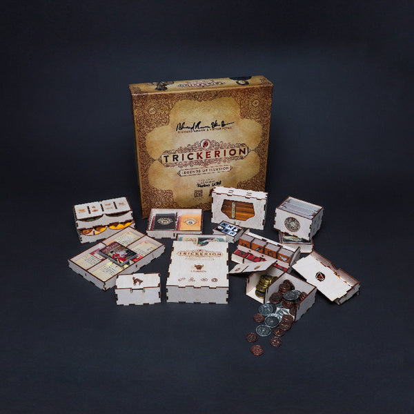 Laserox - Trickster's Trunk (Compatible with Trickerion: Legends of Illusion)
