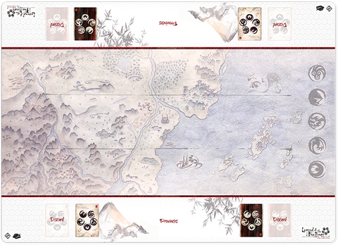 Legend of the Five Rings  - Honored Duel Playmat