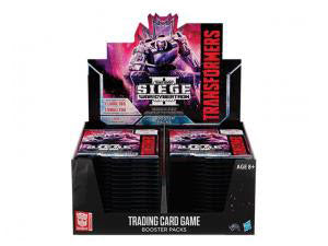 Transformers TCG: War for Cybertron Siege II - Booster Display
