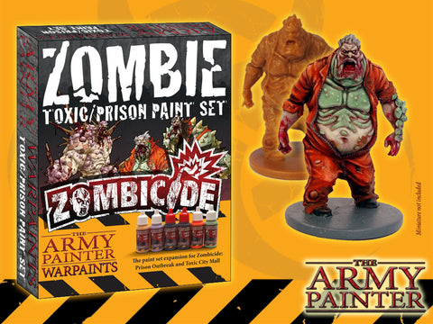 Warpaints Zombicide Expansion Toxic/Prison Set