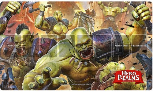 Hero Realms: Playmat - Rampage