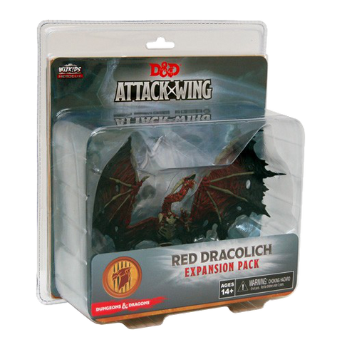 Dungeons & Dragons: Attack Wing – Red Dracolich Expansion Pack