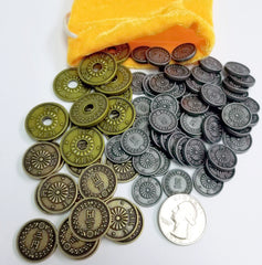 Yokohama - Metal Coins (set of 78)