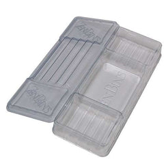 Zen Bins - Dice & Game Storage - Lid/Base Pack (Clear)