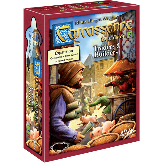 Carcassonne: Expansion 2 - Traders & Builders (New Edition)