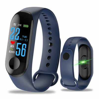 Heart Rate Monitor Smart Watch Wristband Waterproof Bracelet