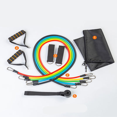 Ashrafiya Co™ Resistance Band Set
