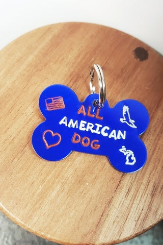 All American Dog Tag