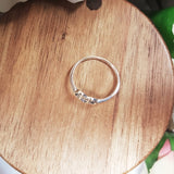 Sterling Silver Heart/Tree Ring