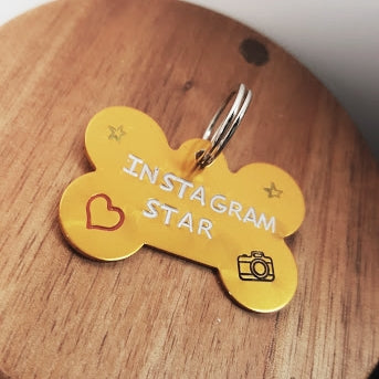 Instagram Star Dog Tag