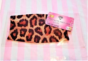 Cheetah Print Adult Face Mask Organic Cotton