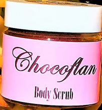 "Load image into Gallery viewer, ""Chocoflan Cake"" Cocoa infused Sugar Body Scrub"