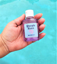 "Load image into Gallery viewer, ""Purple Rain"" Lavender Glittery Hand Sanitizer"