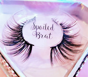 """Spoiled Brat"" Amazing 3D Mink Lashes"