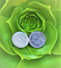 Load image into Gallery viewer, 10 Pesos Mexican Coin Pair of stud earrings