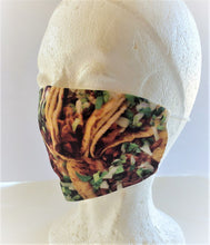 Load image into Gallery viewer, I love Tacos Adult Face Mask Organic Cotton
