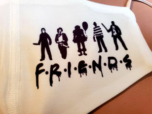 FRIENDS Adult Face Mask Organic Cotton